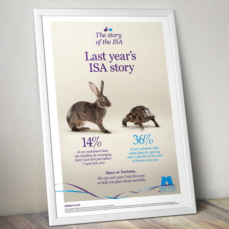 A1 poster for Skipton Building Society